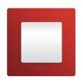 Legrand Etika Красный Рамка 1-ая (672531)