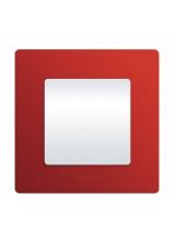 Legrand Etika Красный Рамка 4-ая (672534)