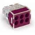 Клеммники wago 773 326 на 6 пр. 1,0-2,5 мм2, без пасты.