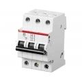 Электрический автомат защиты ABB  SH 203L C20 трёхполюсный трёхфазный