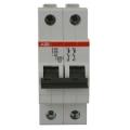 Электрический автомат защиты ABB S 202 C50 двухполюсный однофазный