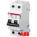 Электрический автомат защиты ABB  SH 202L C16 двухполюсный однофазный