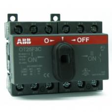 Перекидной рубильник ABB ОТ 160F3С 160А  реверсивный