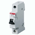 Электрический автомат защиты ABB S 201 C1 однополосный однофазный