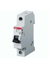 Электрический автомат защиты ABB S 201 C16 однополосный однофазный