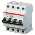 Автоматический выключатель ABB S284 C100 четырёхполюсный трёхфазный