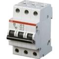 Электрический автомат защиты ABB S 203 C16 трёхполюсный трёхфазный